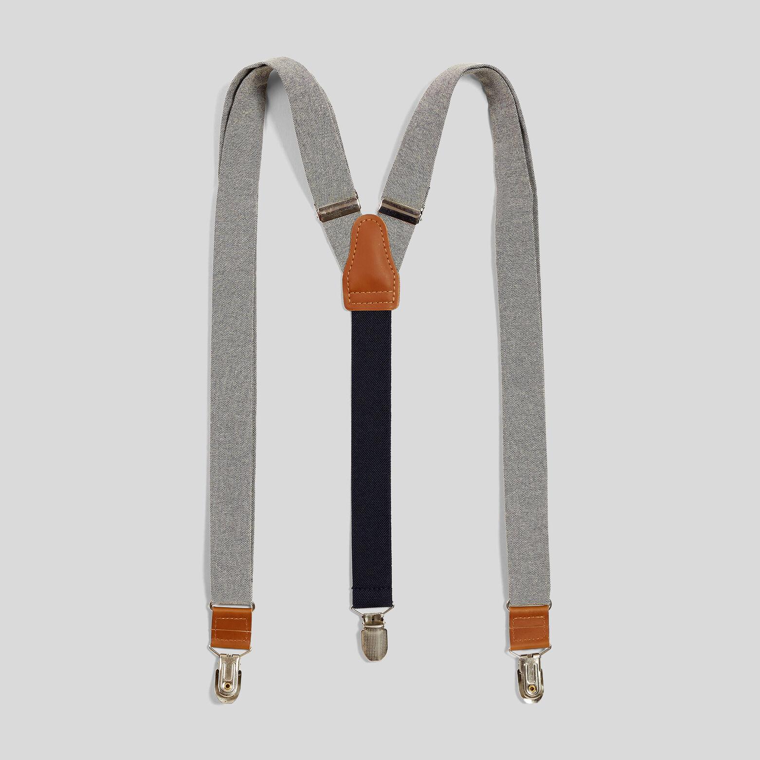 Bretelles bicolore