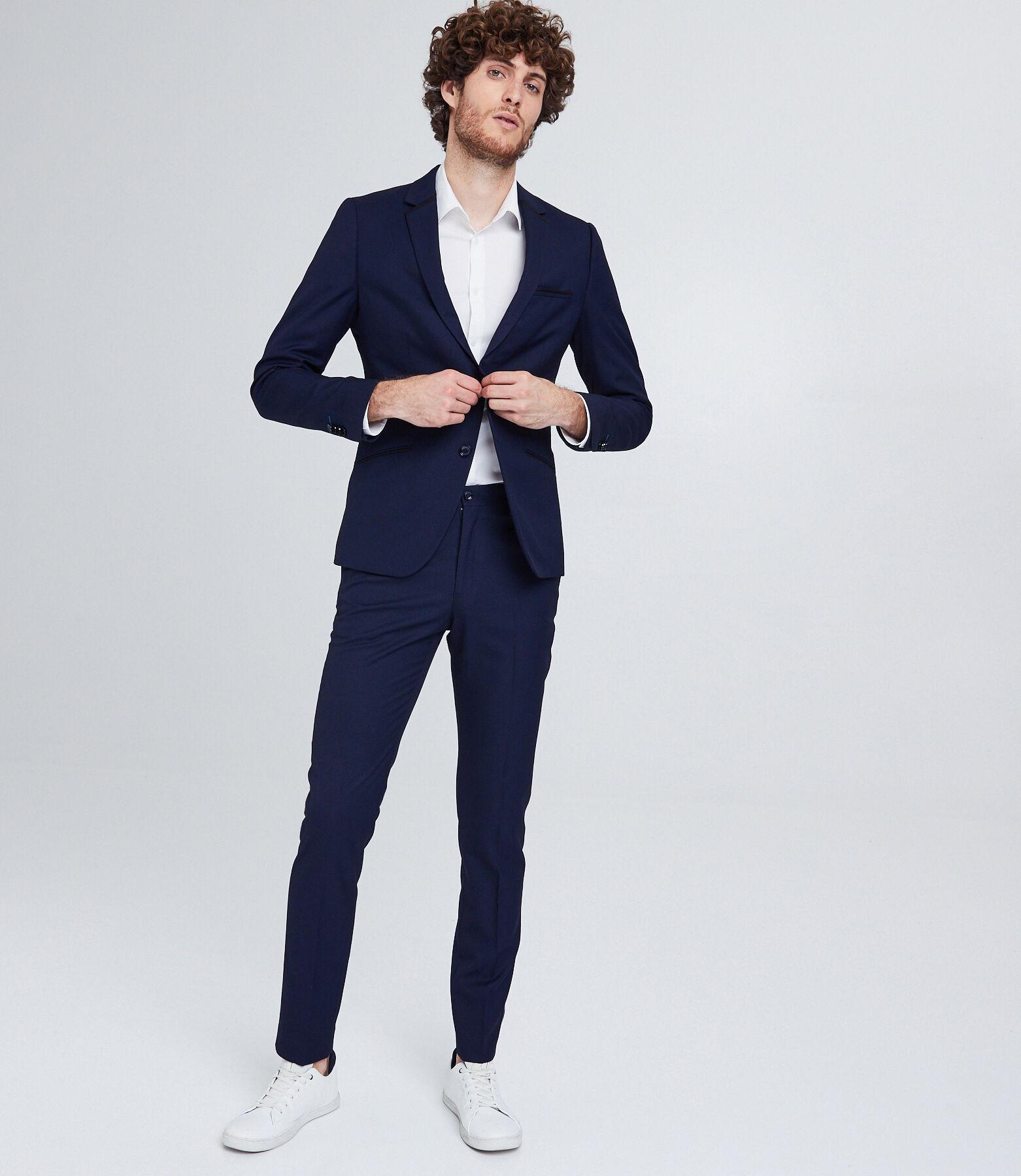 Veste de costume,coupe slim