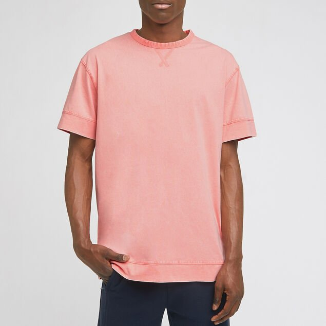 Tee-shirt coupe oversized effet lavé