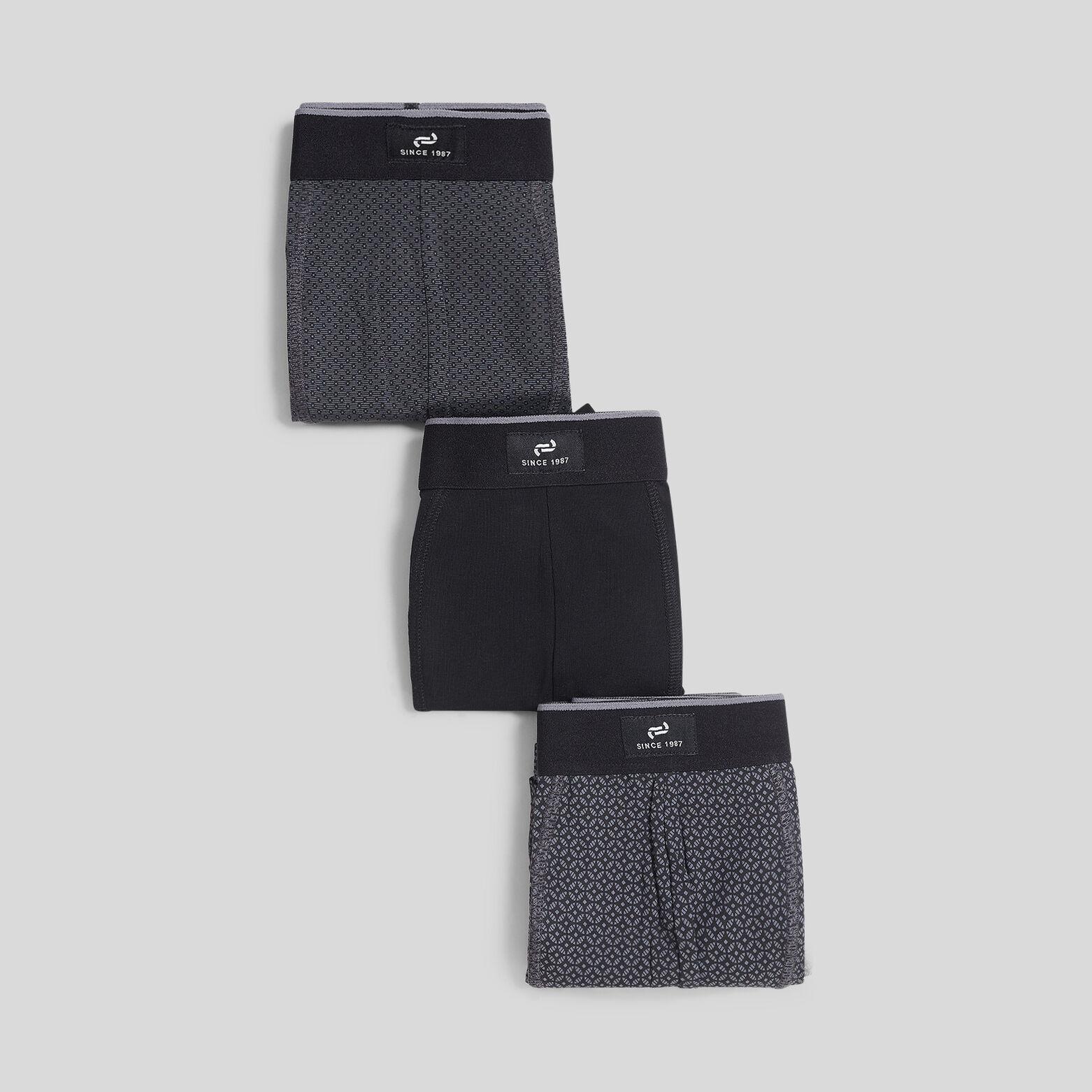 Lot de 3 boxers imprimés
