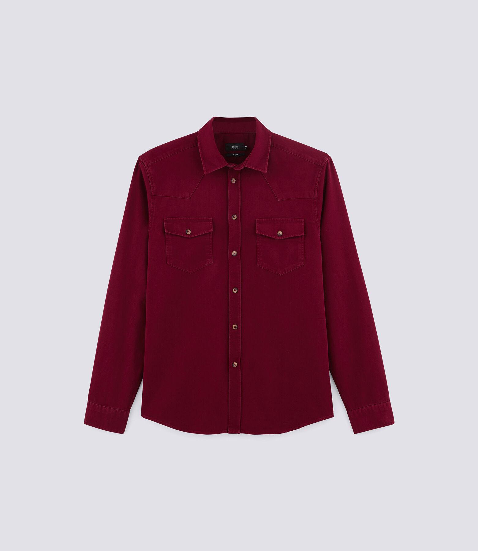 Chemise Sportswear Rouge Moyen