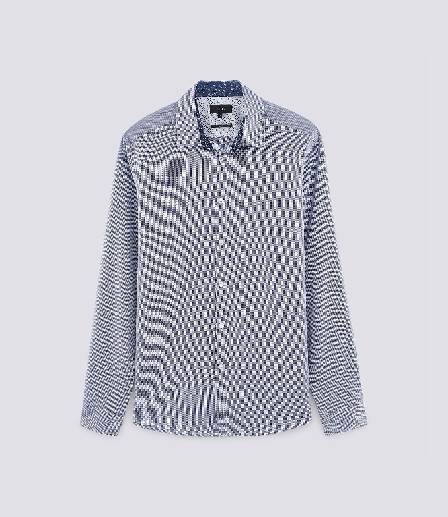 Hemd met rechte snit