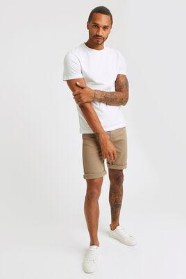 Bermuda 5 poches couleur garment dyed