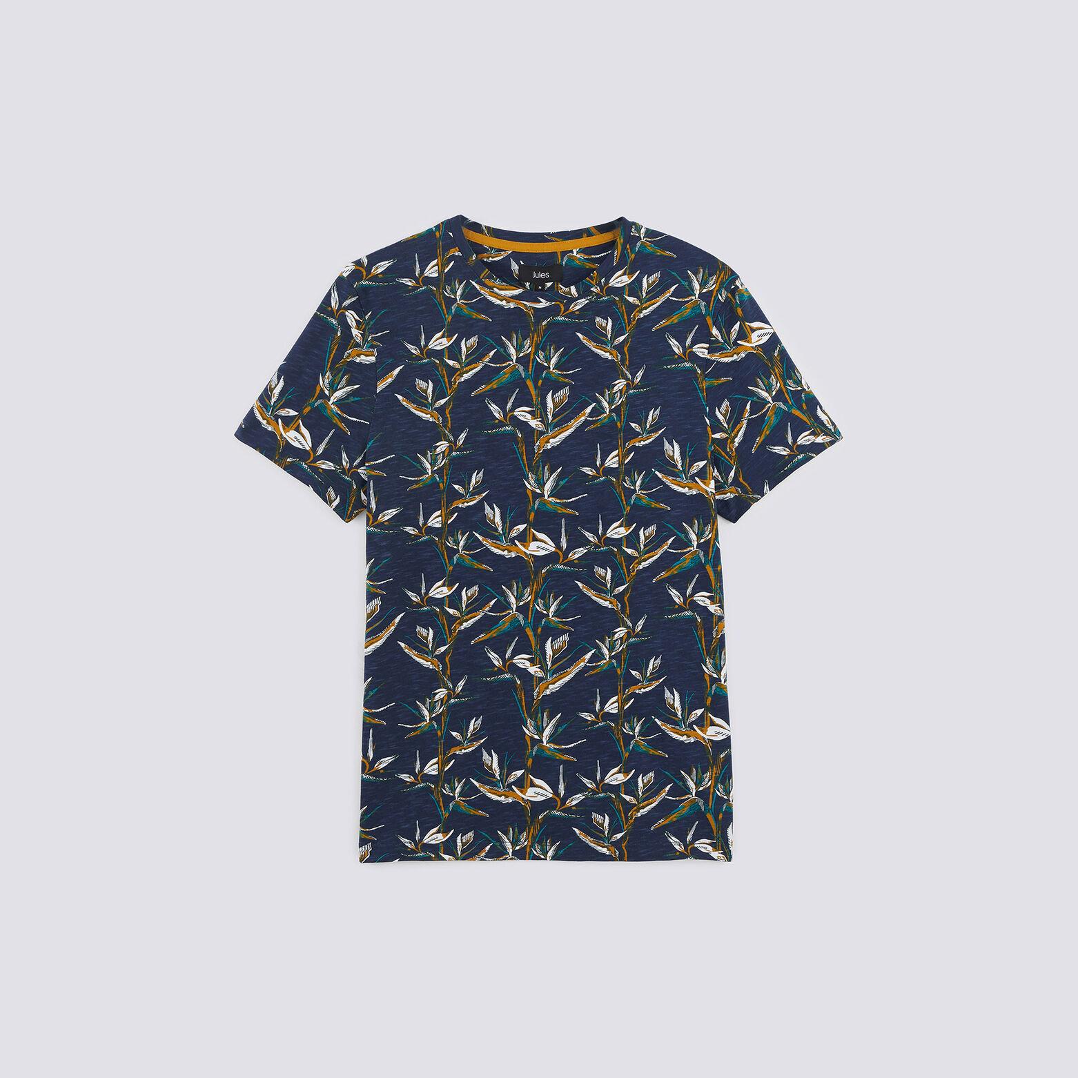 T-shirt all over oiseaux de paradis