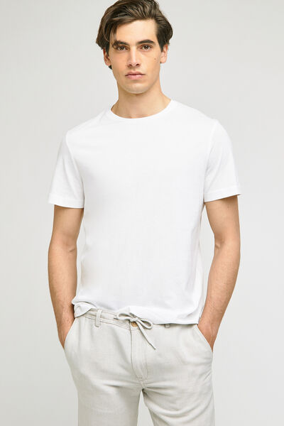 Tee-shirt basique col rond