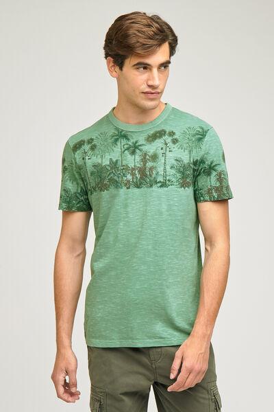 Tee-shirt imprimé jungle