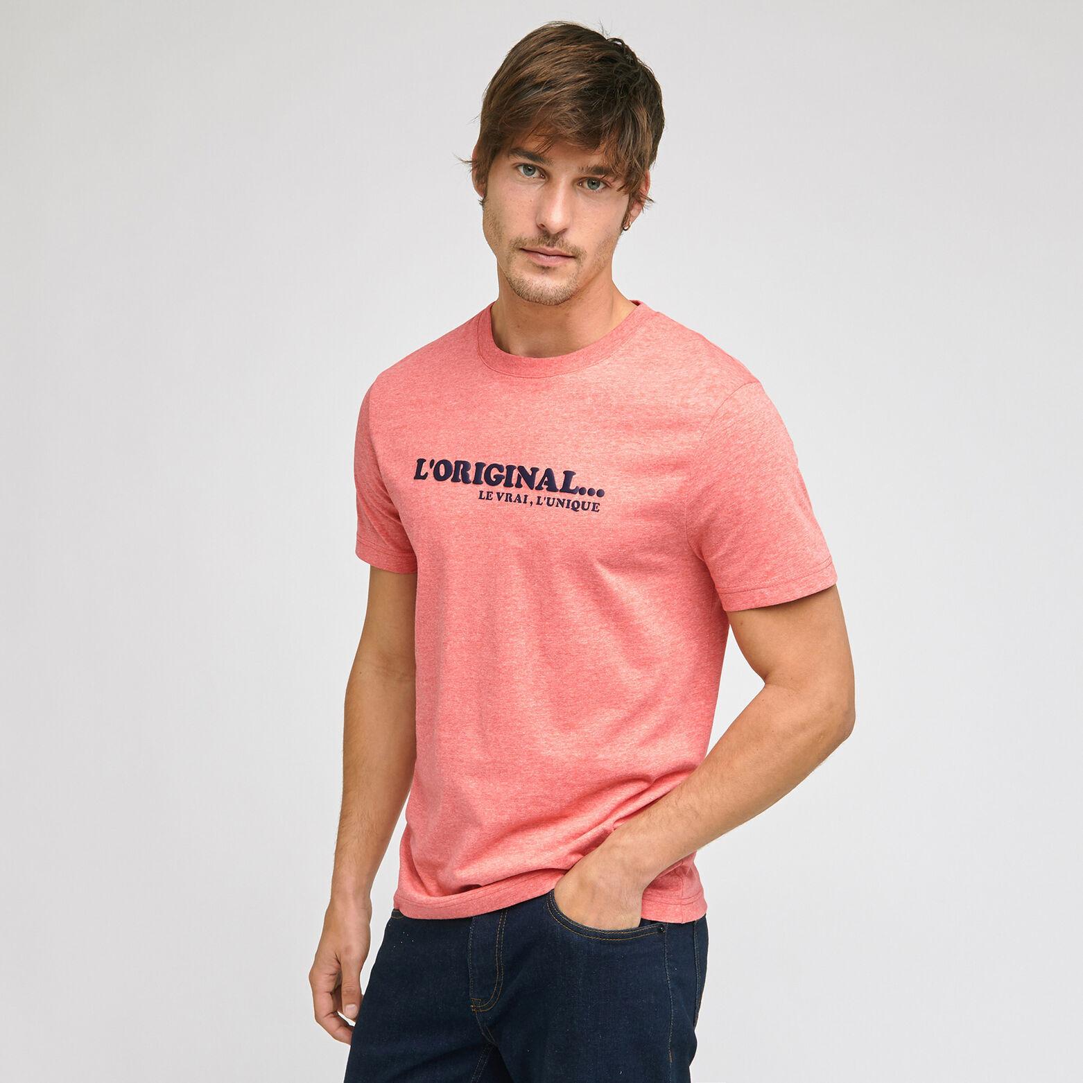 Ensemble mini moi tee shirt l'original - Corail