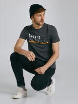 T-shirt met print van regio Flandres