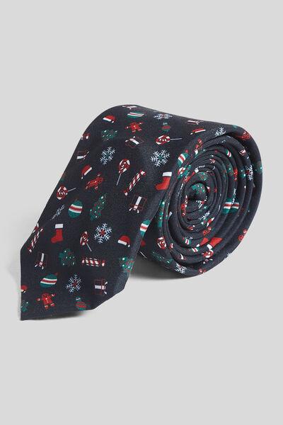 Cravate musicale Noël