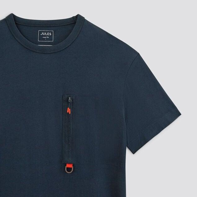 Tee-shirt poche twill