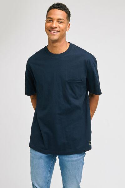 Tee-shirt coupe oversized