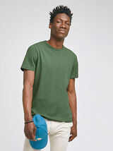 Tee-shirt en piqué de coton