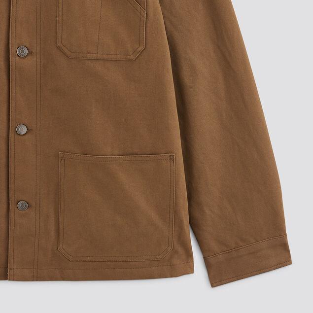 Blouson col chemise en coton