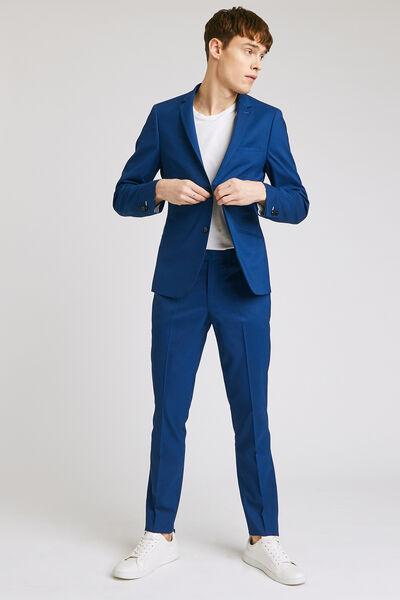 Ensemble de costume slim confort  - Bleu Vif