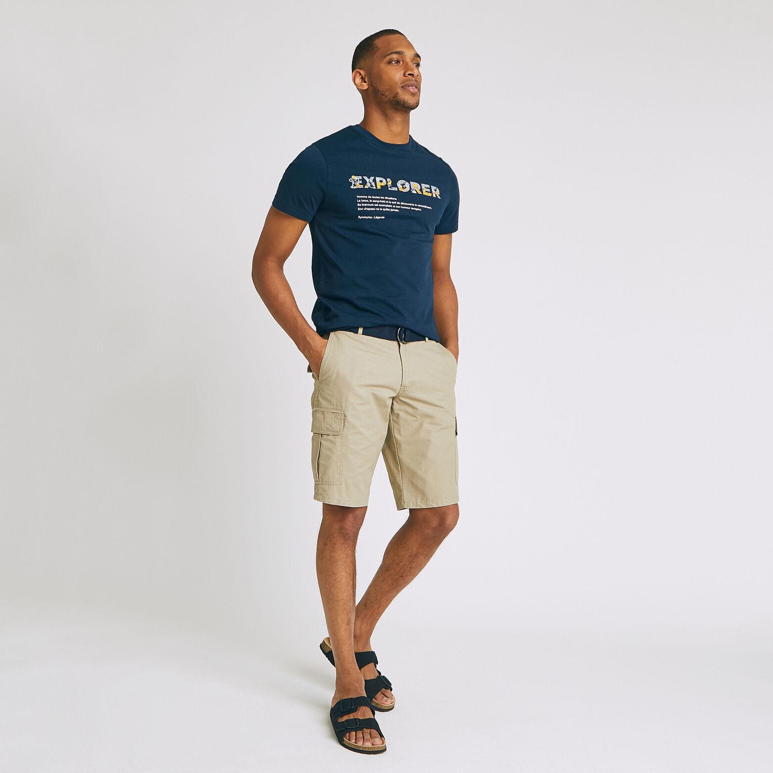 Tee Shirt à message ENJOY / EXPLORER