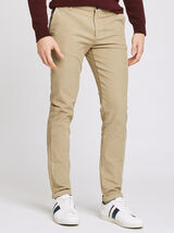 Chino coupe slim en velours