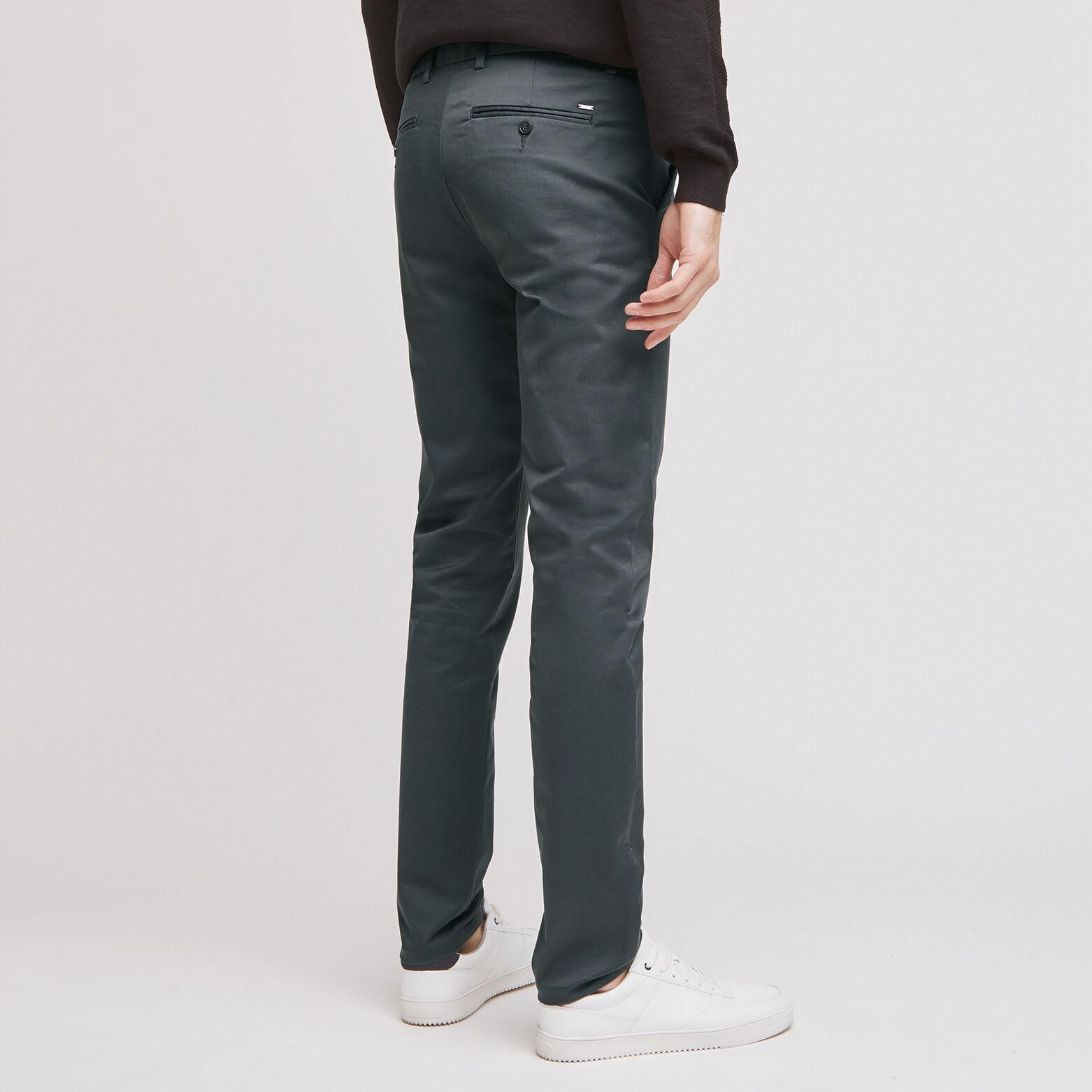 """Pantalon chino slim Simon en coton bio""""in progre"""