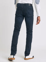 Jean slim #Tom urbanflex 4 longueurs blue black