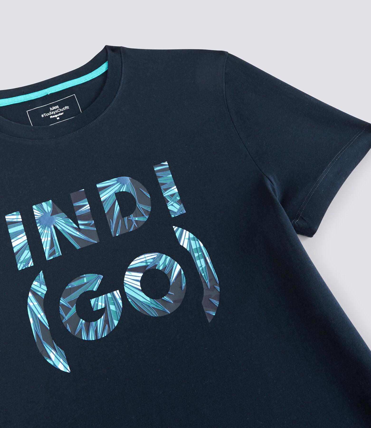 T-Shirt Bleu Marine Moyen