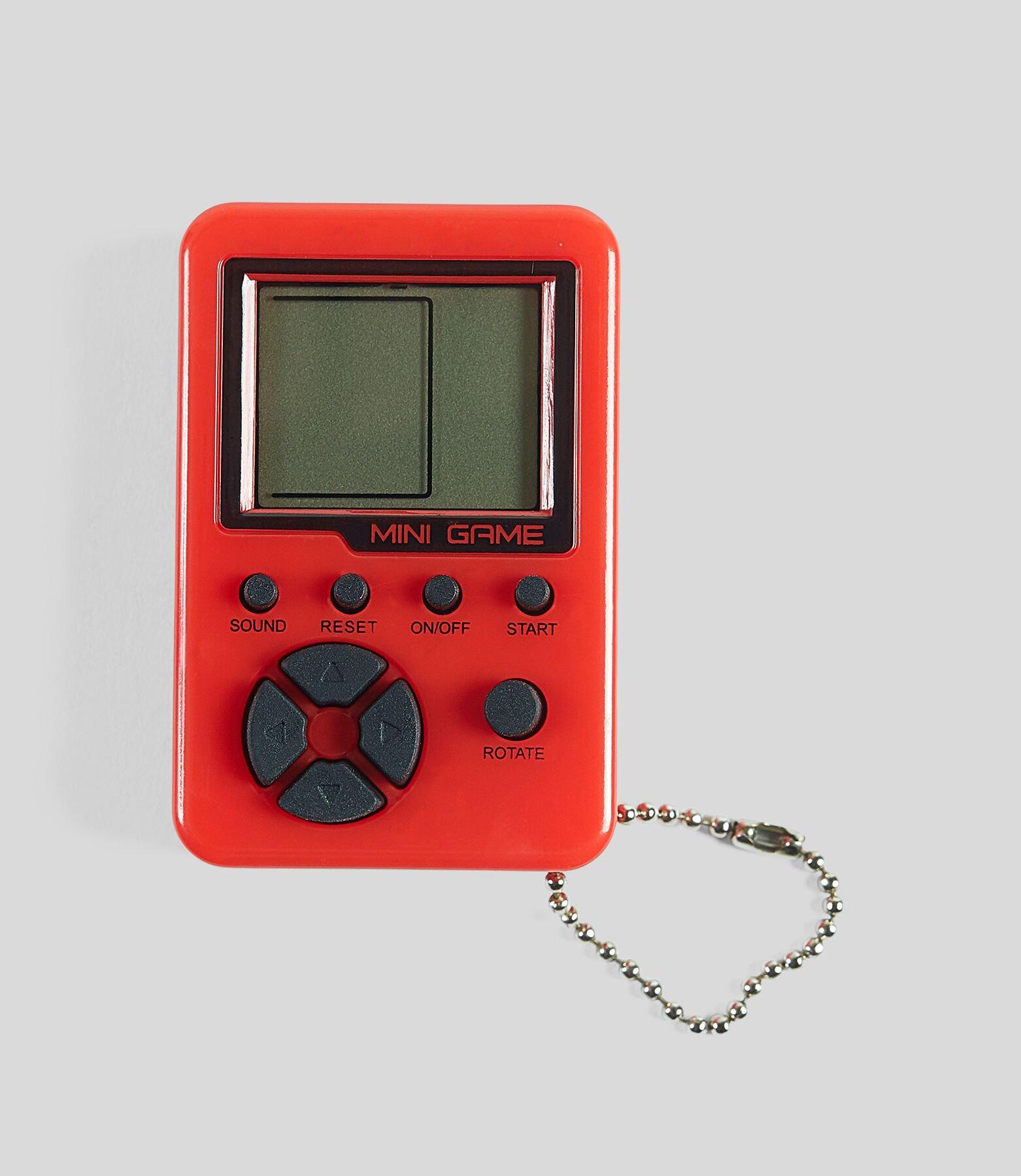 Porte-clés mini console rétro