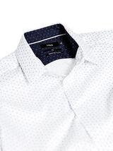 Hemd met print, makkelijk te strijken