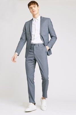 Slim kostuumbroek met het comfort van stretch