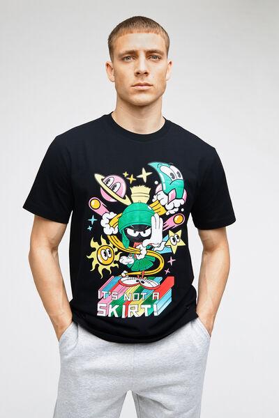 T-Shirt Noir Fantaisie