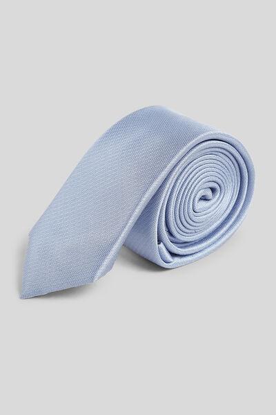 Cravate fine unie
