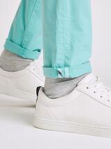 Pantalon Sportswear Bleu Turquoise