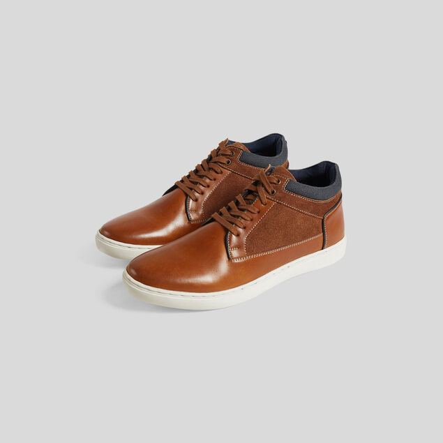 Chaussures montantes cuir