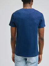 Tee-shirt découpe fantaisie coton issu de l'agri b