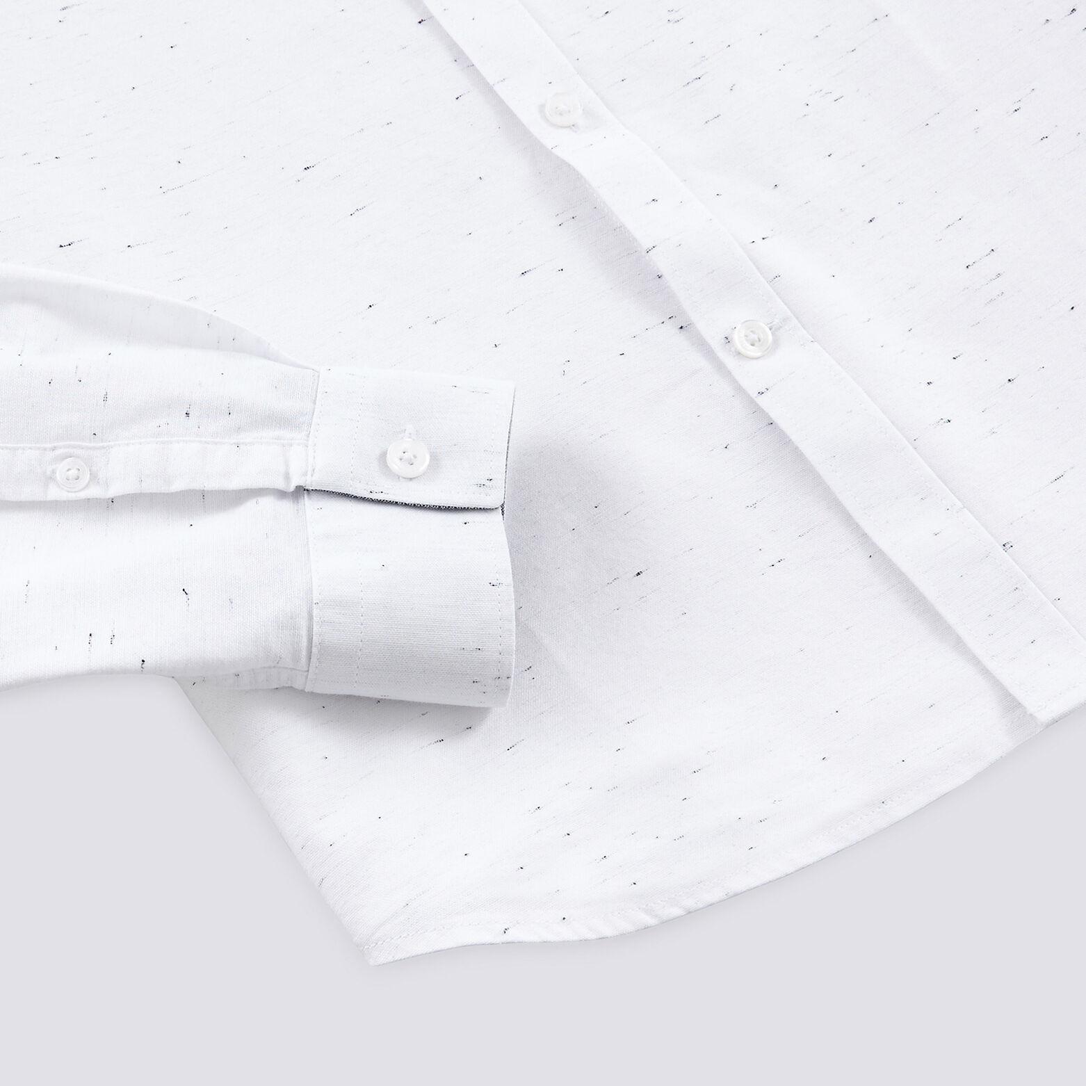 Chemise slim oxford en coton biologique
