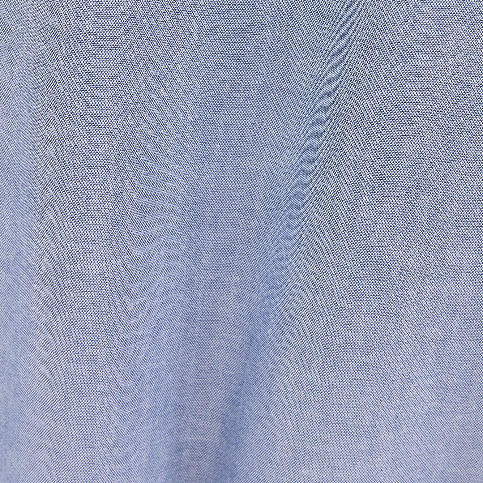 Chemise regular oxford col mao coton biologique