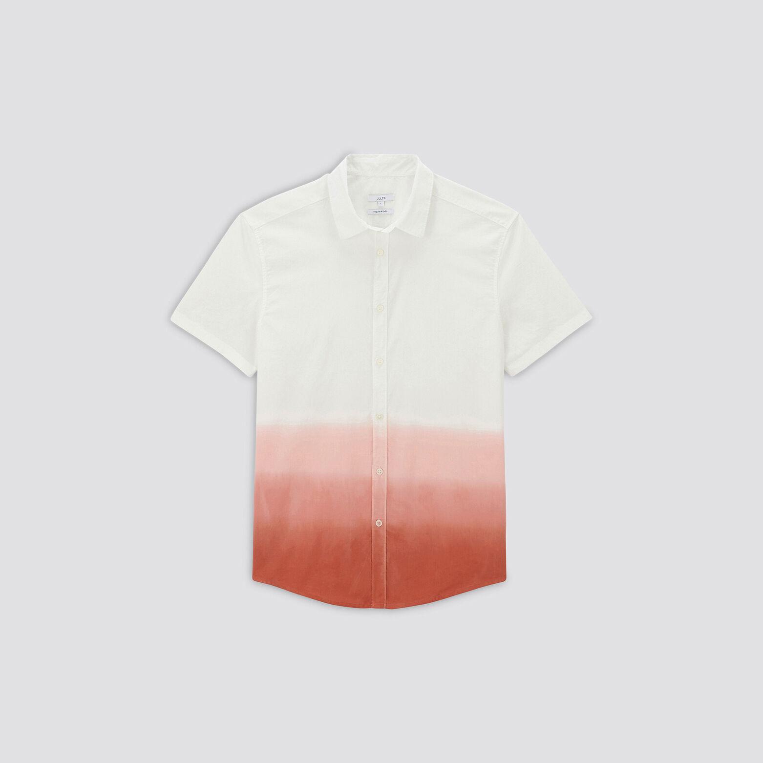 Chemisette regular effet tie and dye coton