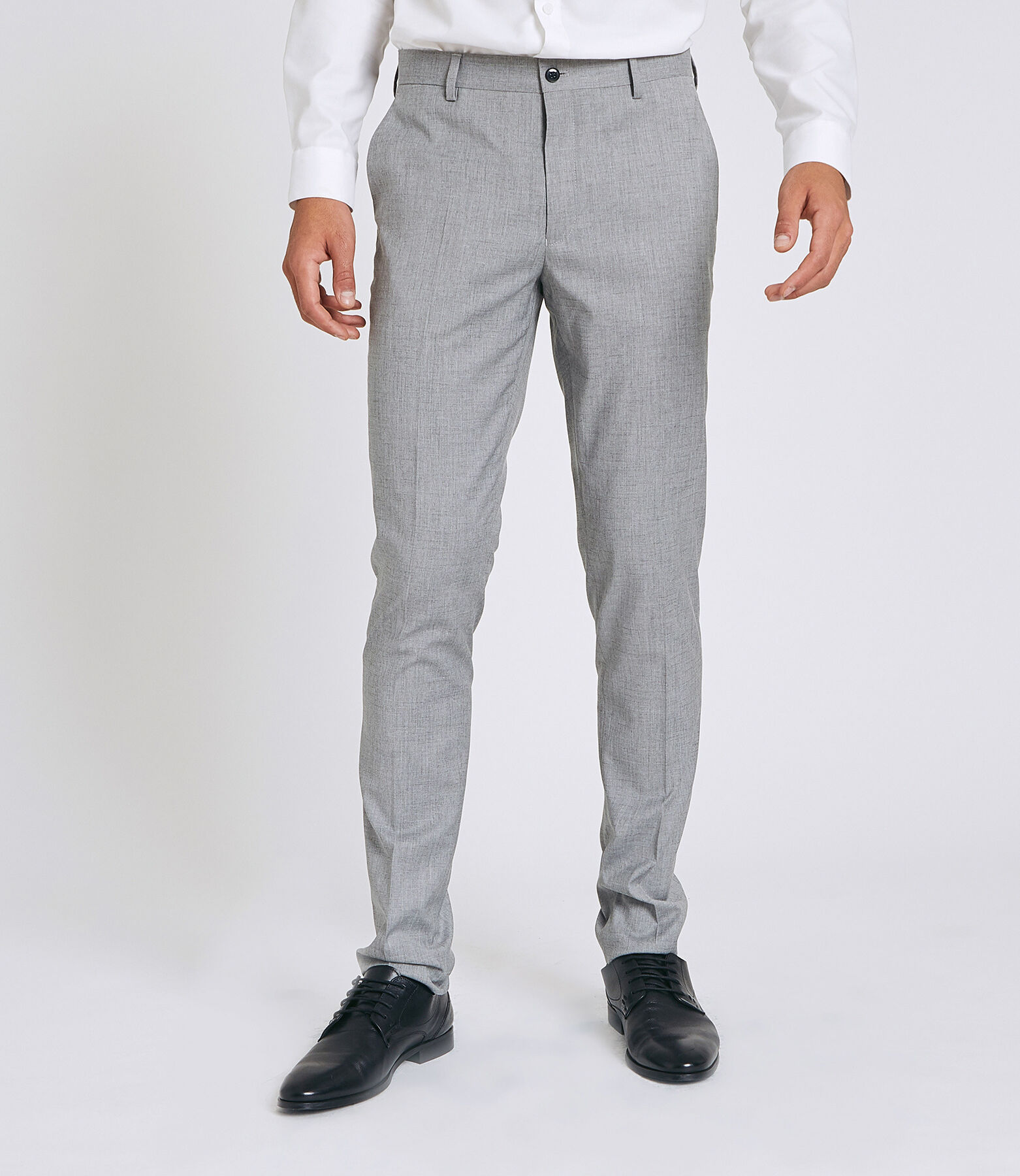 Pantalon Costume Gris Clair