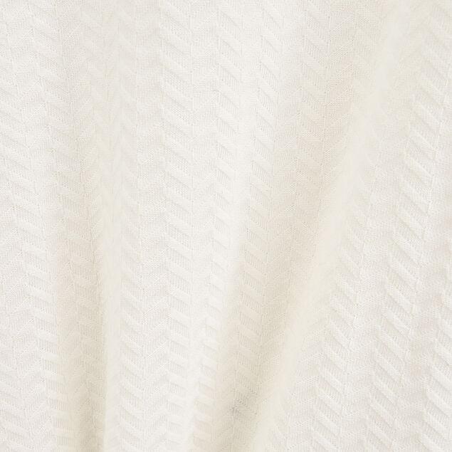 Polo manches courtes texturé col ouvert