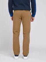 Pantalon Chino straight canvas