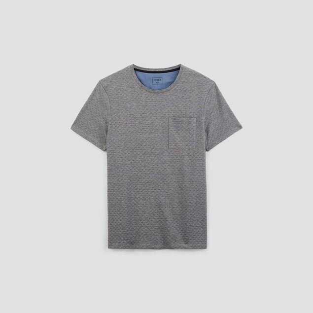 Tee-shirt jacquard