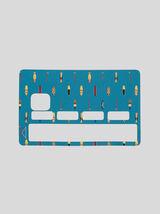 Stickers carte bleue