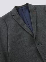 veste blazer slim carreaux prince de Galles