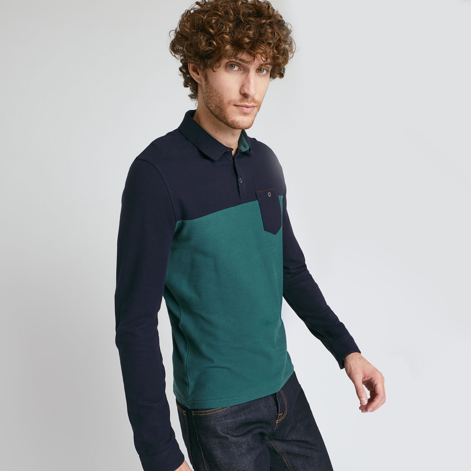 Ensemble polo pantalon ceinture
