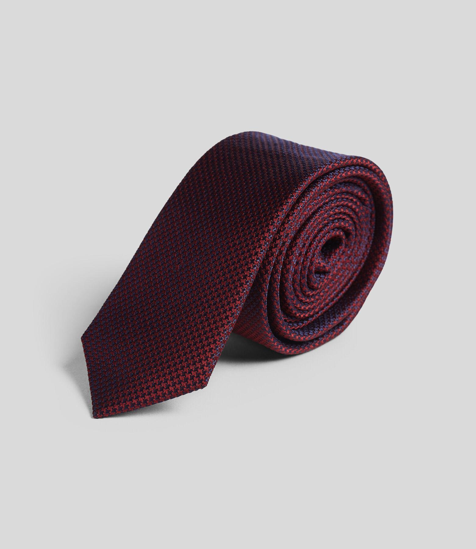 Cravate homme micro motif
