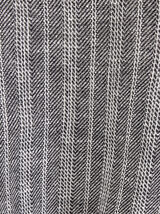 Bermuda chino coton/lin à rayure
