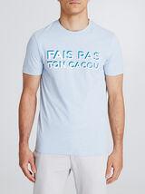 T-shirt met print van regio Provence