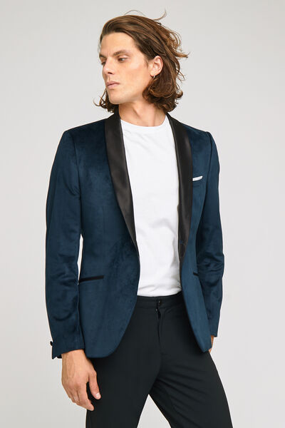 veste seule slim velours palatine