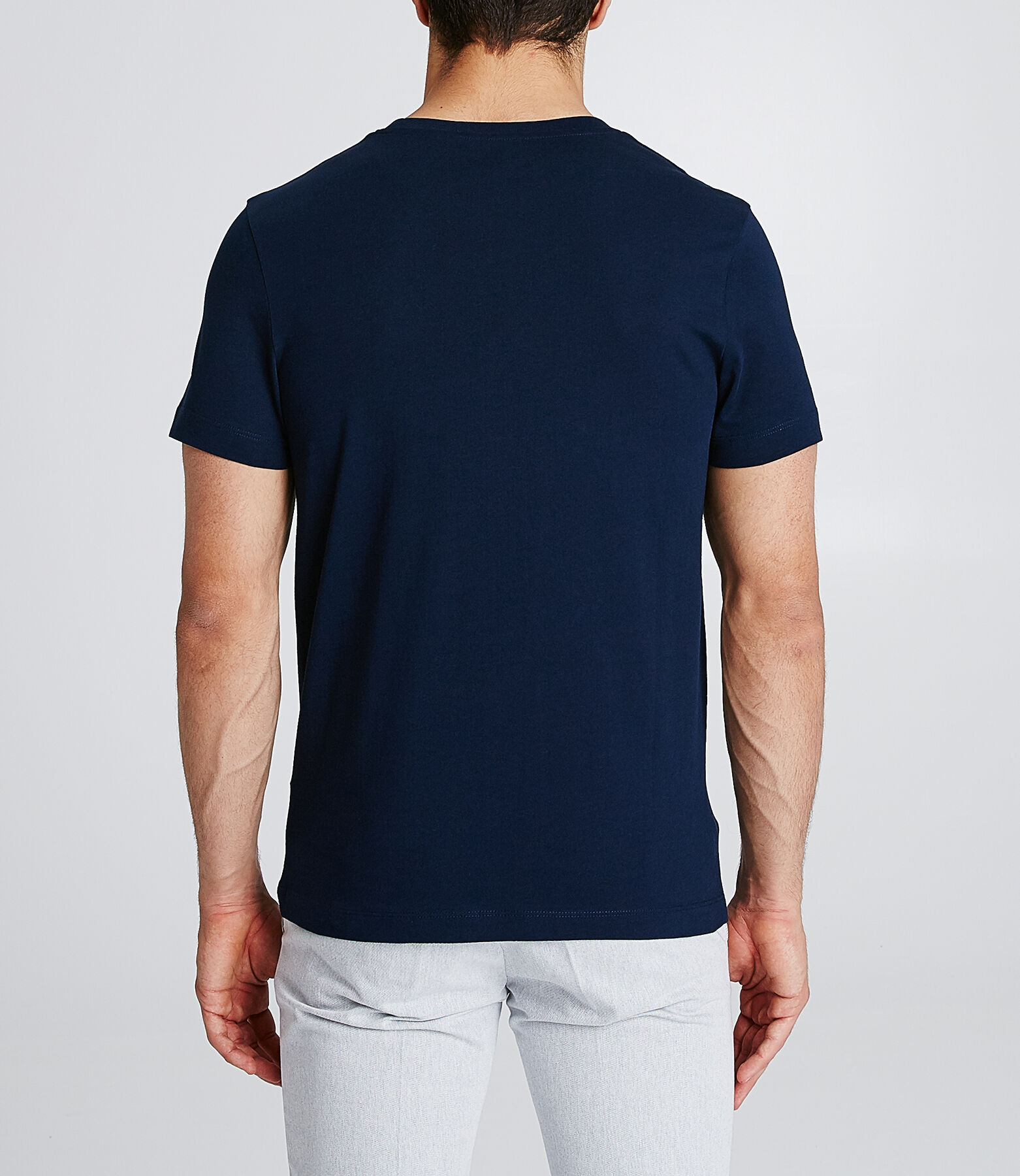 T-shirt met print van regio Normandië