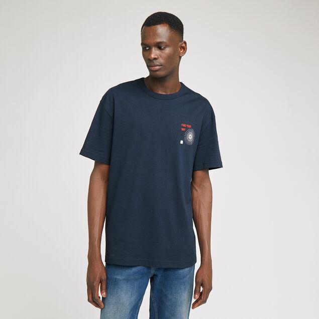 Tee-shirt imprimé devant et dos