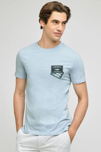 Tee-shirt imprimé station  balnéaire SAINT GILLES