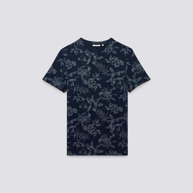 Tee-shirt imprimé manches courtes