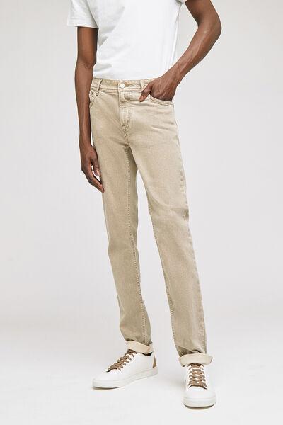Pantalon 5 poches slimdélavé